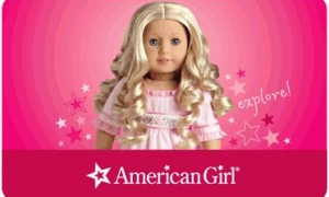 *HOT* $100 American Girl Gift Card ONLY $79.99!