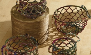 Beautiful Jute Baskets ONLY $9.80! (Great for Organizing, Decorating, Laundry and more!)