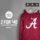 *HOT* NCAA College Hoodies ONLY $17.50 + FREE Shipping (Reg. $40!)