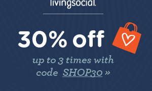 Extra .30 off at Living Social Discount Site