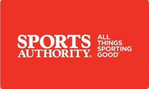 Buy a $50 Sports Authority Gift Card, get $10 Free ($60 value)