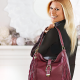 QVC: G.I.L.I Leather Stirrup Hobo Bag with Fringe